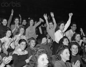 Frank Sinatra Bobby Soxers Paramount Theater
