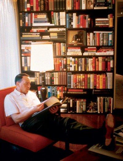 Frank Sinatra Reading Book