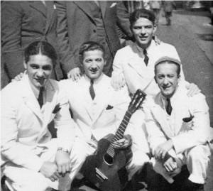 Frank Sinatra Hoboken Four 1935