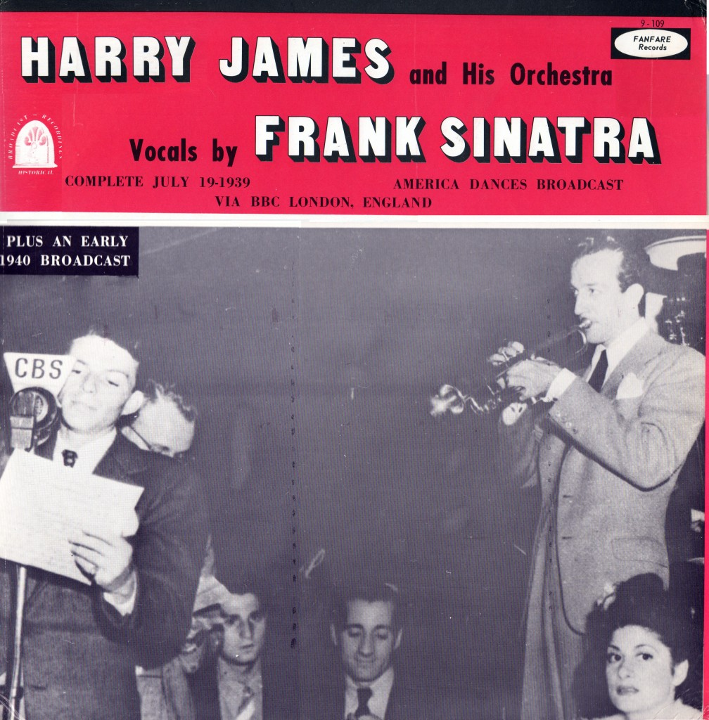 Frank Sinatra Harry James America Dances Program