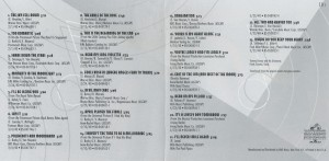 Frank Sinatra The Song Is You Box Set CD 1 Song List